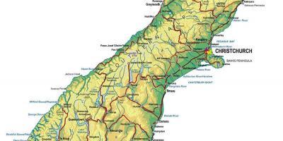 Neuseeland Nordinsel Karte.Karte Von Neuseeland North Island Karte Von Nord Neuseeland